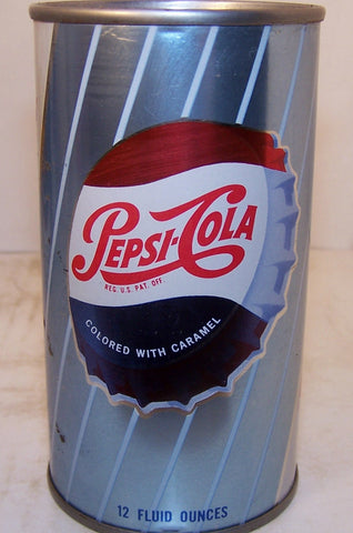 Pepsi Bottle cap, 2007 soda can book, page 187 Grade 1-