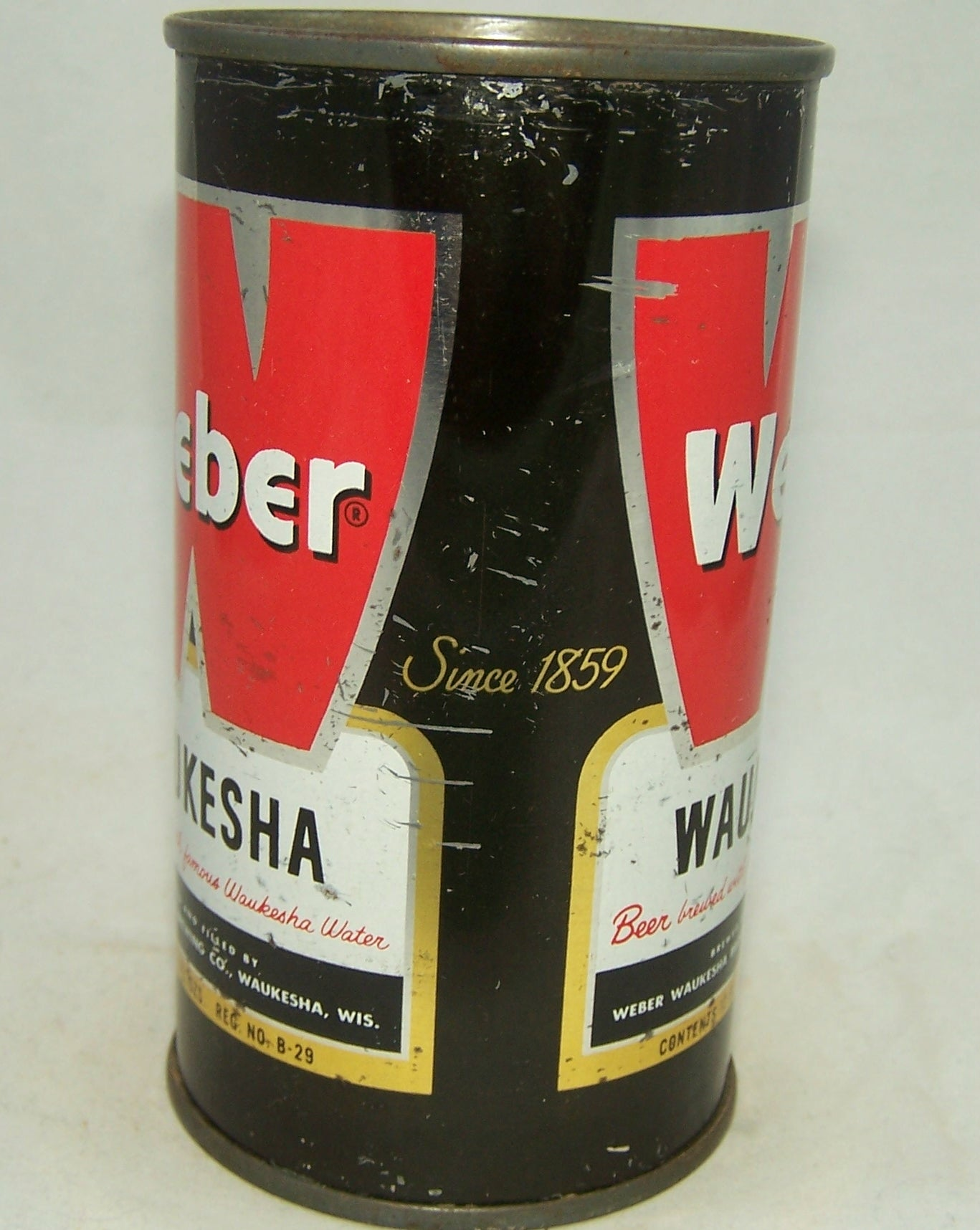 Weber Waukesha Beer, USBC 144-29, Grade 1- Sold on 07/27/18