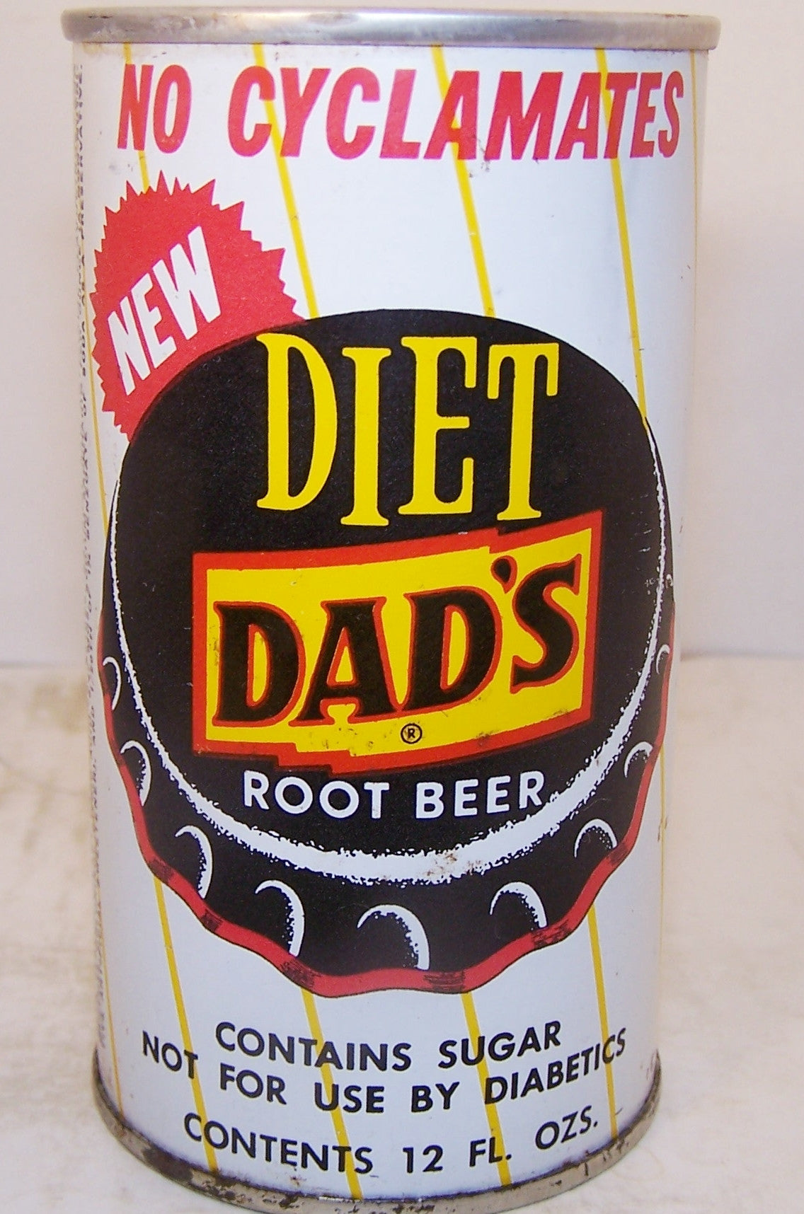 Dad's Diet Root Beer, 2007 soda can book page 144 Grade 1/1+