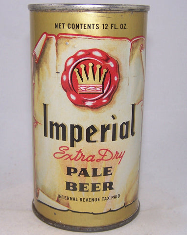 Imperial Extra Dry Pale Beer, (IRTP) N.L (Enamel) Not Listed, Grade 1