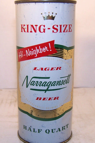 Narragansett HI Neighbor, King Size, USBC 232-26, Grade 1- Sold on 2/11/15