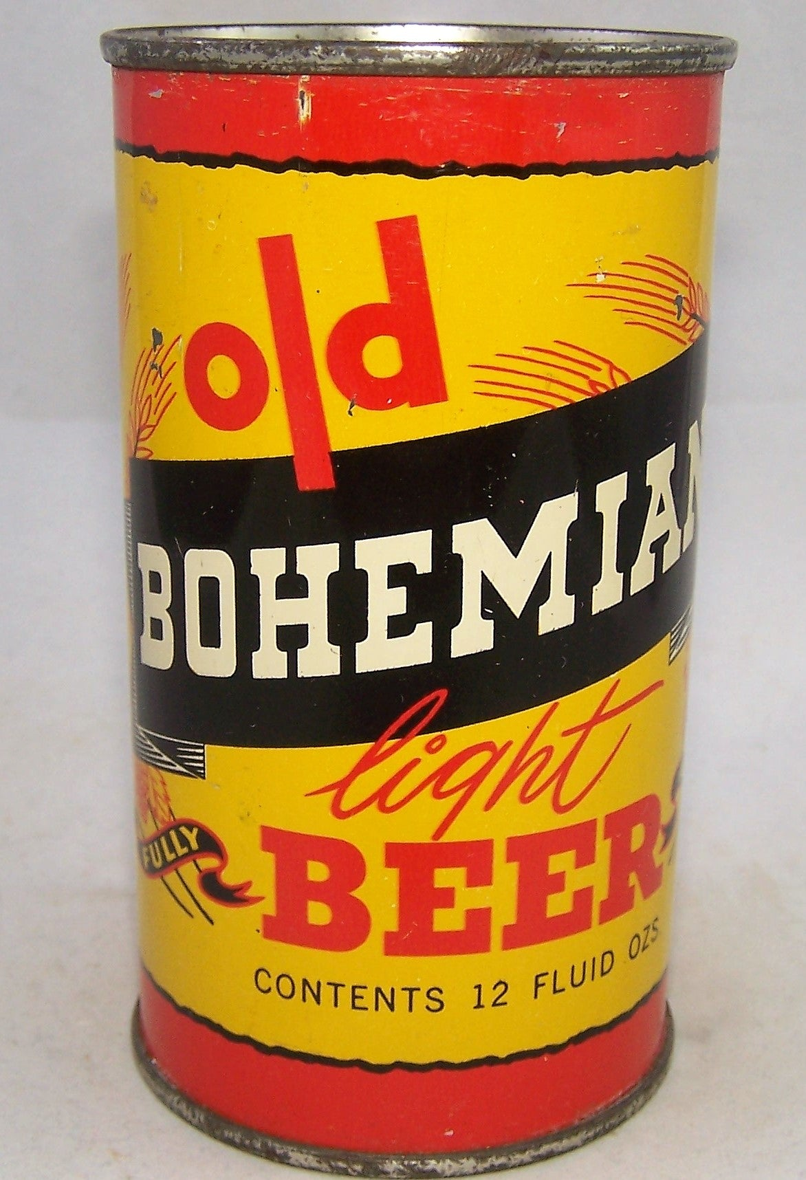 Old Bohemian Light Beer, USBC 104-22, Grade 1 to 1/1-
