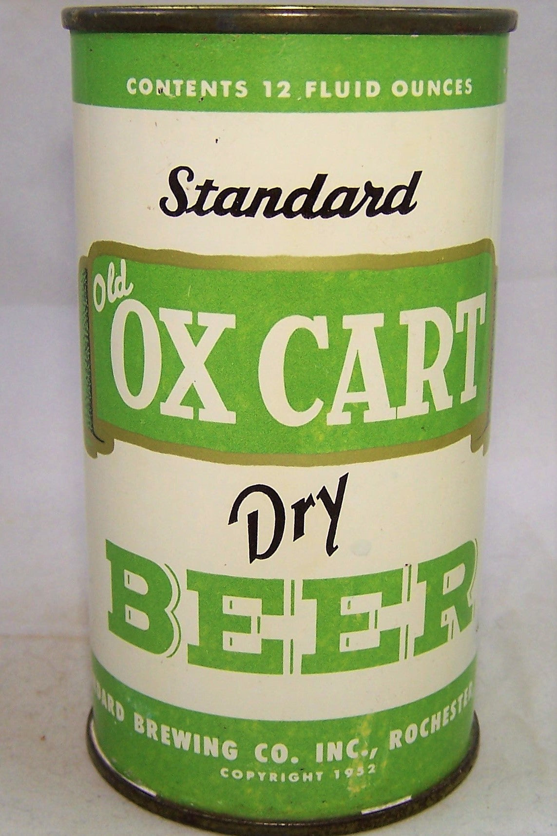 Standard Old Ox Cart Dry Beer, USBC 135-31, Grade 1/1- Sold on 04/25/18