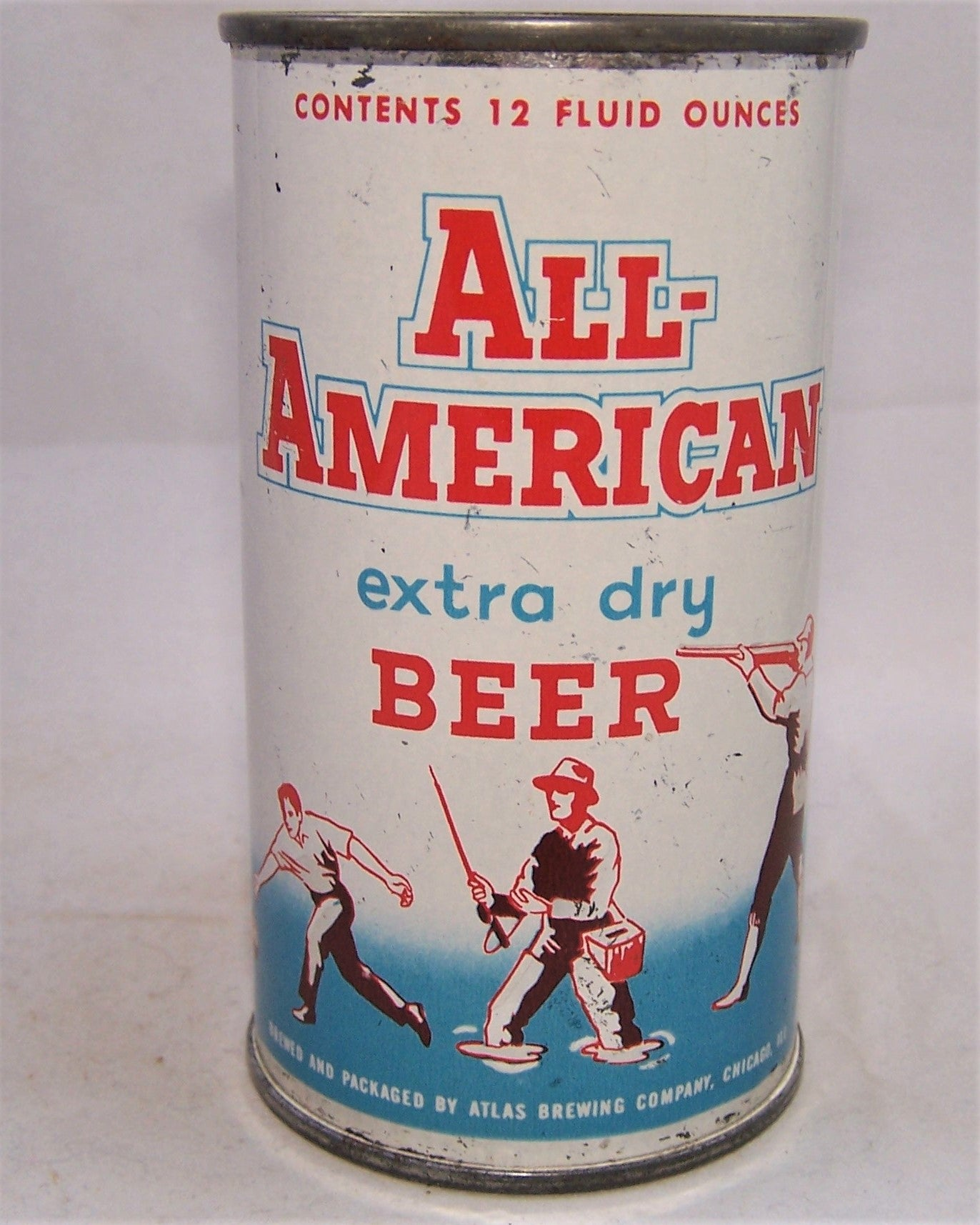 All-American Extra Dry Beer, USBC 29-27, Grade 1- Sold on 02/18/19