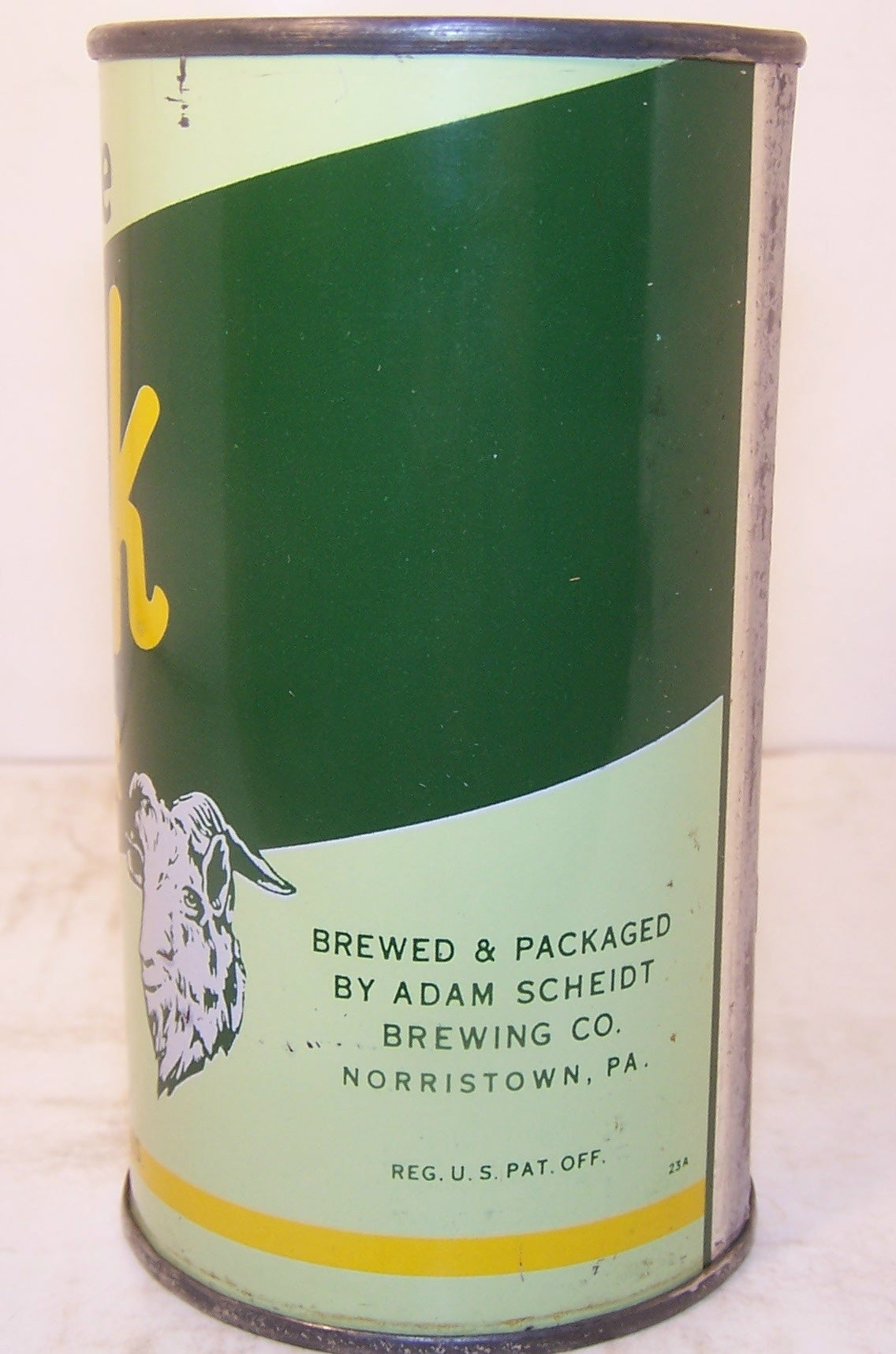 Valley Forge Bock Beer, USBC 143-9 (Valley Forge in Green Letters) Grade 1