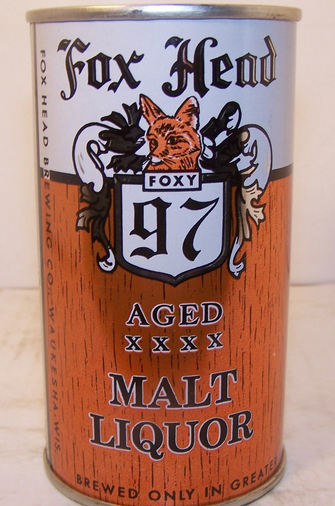 Fox Head 97 Aged Malt Liquor, USBC Like 66-18 Grade A1+ Sold 5/3/15