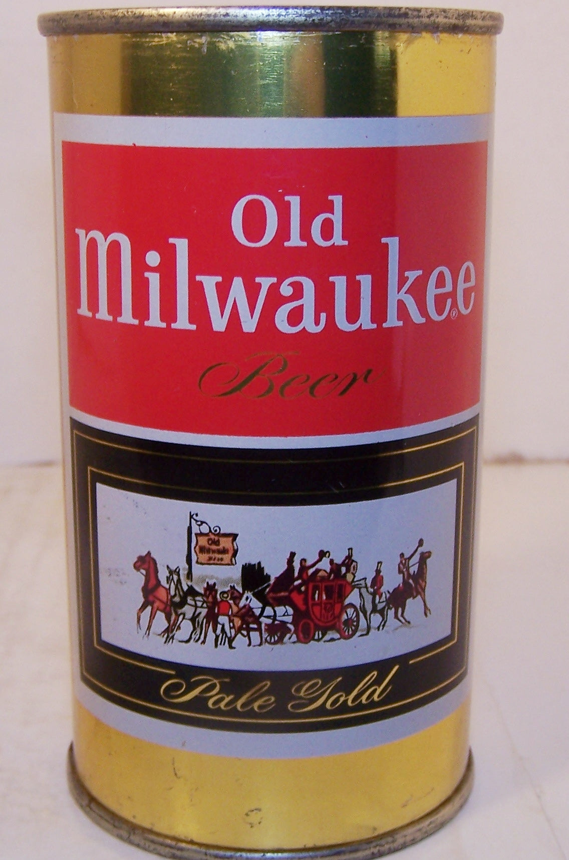Old Milwaukee Pale Gold Beer, USBC 107-26, Grade A1+ Sold 12/11/14