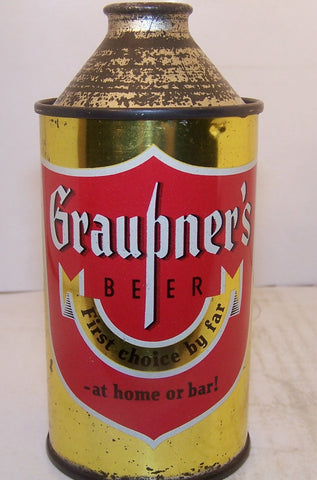 "Graupner's Beer ""At home or Bar"" USBC 167-28 Grade 1 Sold on 06/16/16"