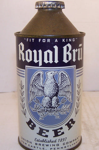 Royal Bru Beer, USBC 182-29 Grade 1/1+ Sold on 11/22/15