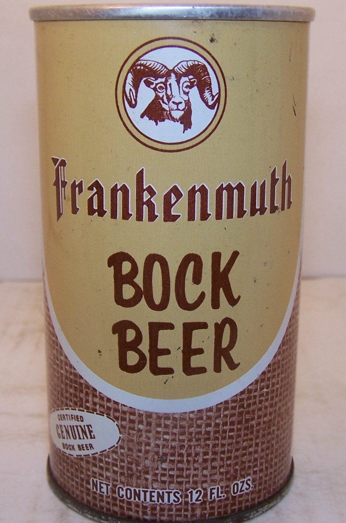 Frankenmuth Bock Beer USBC II  66-12 Grade 1 Sold on 2/22/15