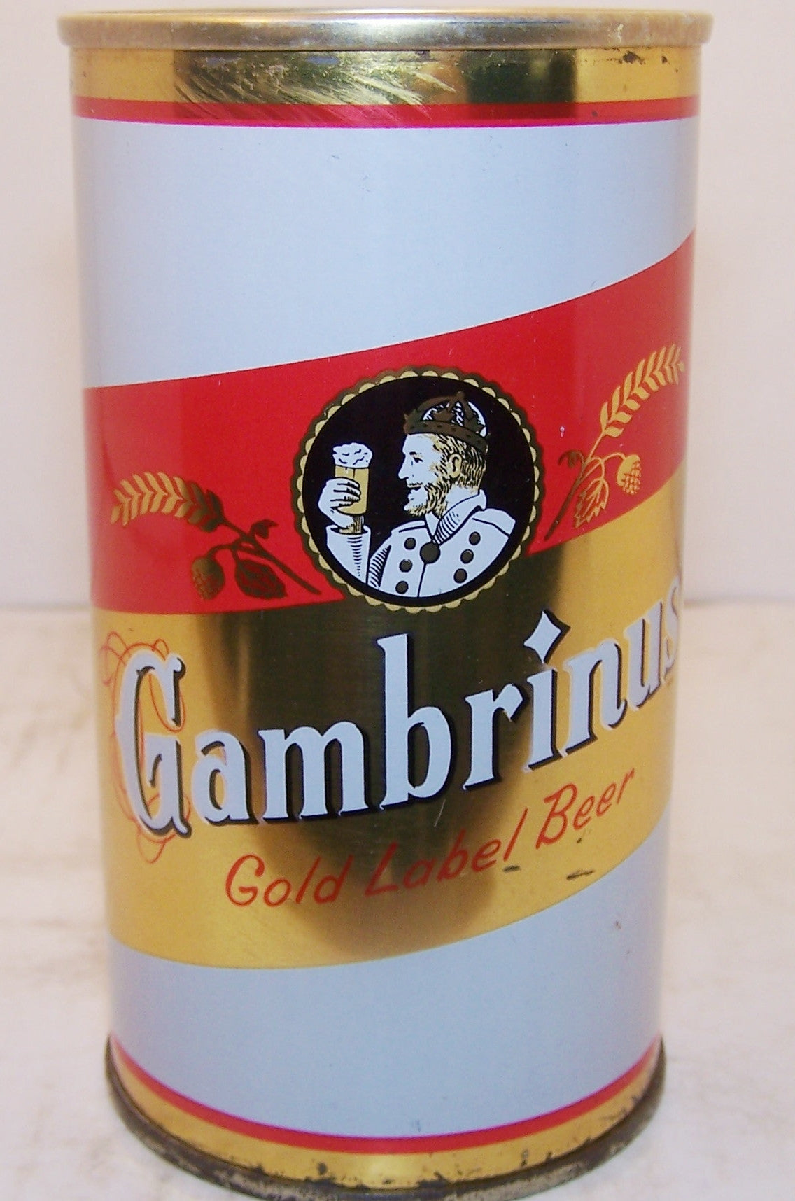 Gambrinus Gold Label Beer, USBC II 67-2 Grade 1/1+ Sold 2/20/15