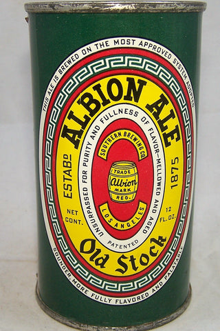 Albion Old Stock Ale, USBC 29-24, Grade 1/1+ Sold on 05/03/18