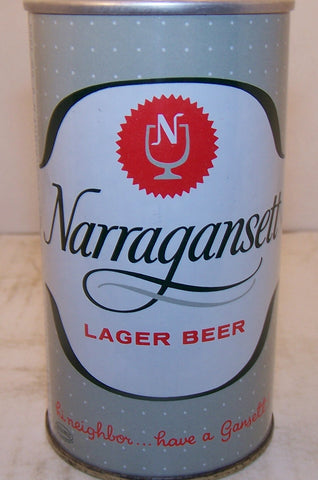 Narragansett Lager Beer, USBC II 96-1 Grade A1+ Sold in 2016