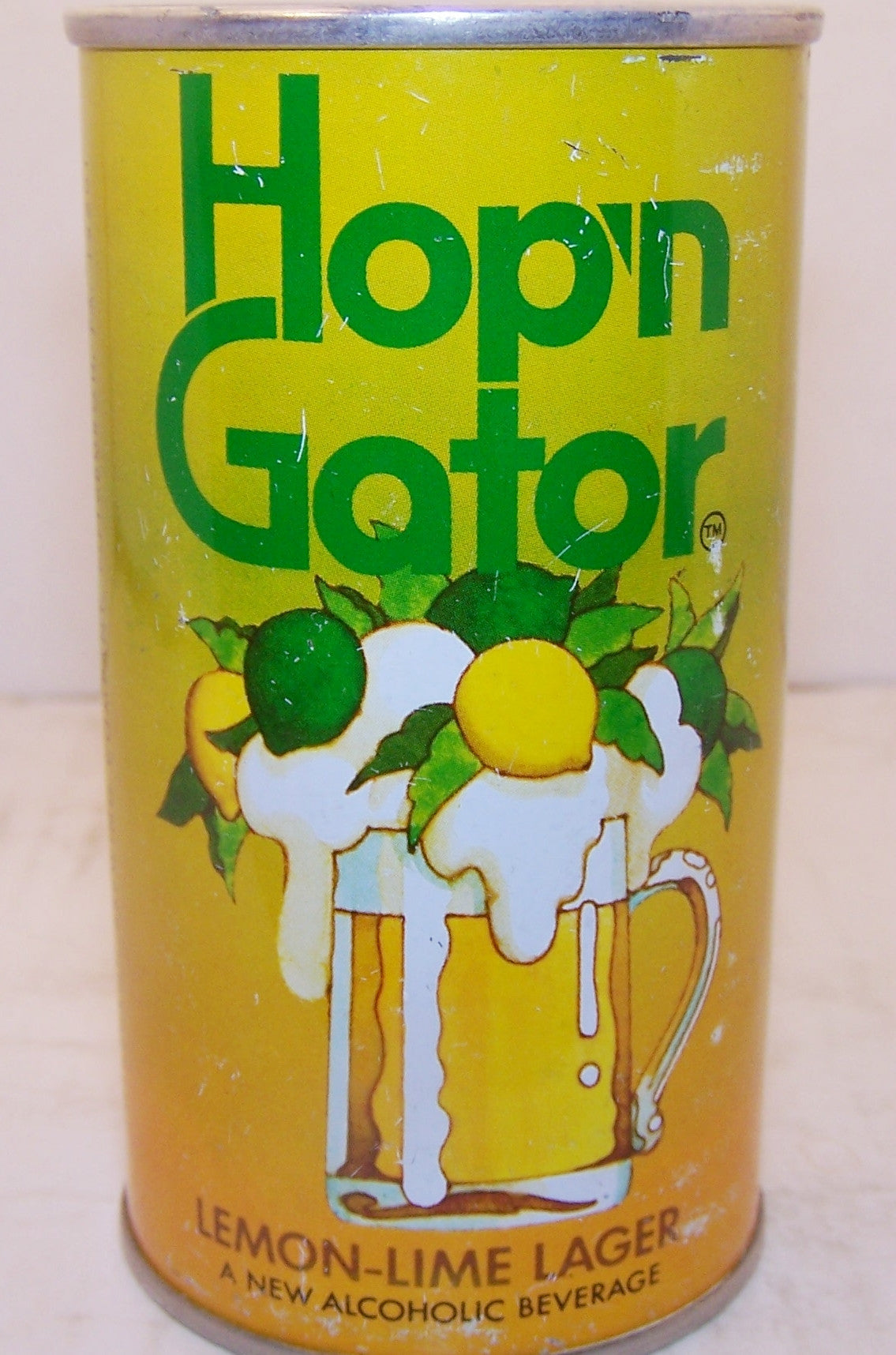 Hop'n Gator Lemon Lime Lager, USBC II 77-13 Grade 1-   Sold out