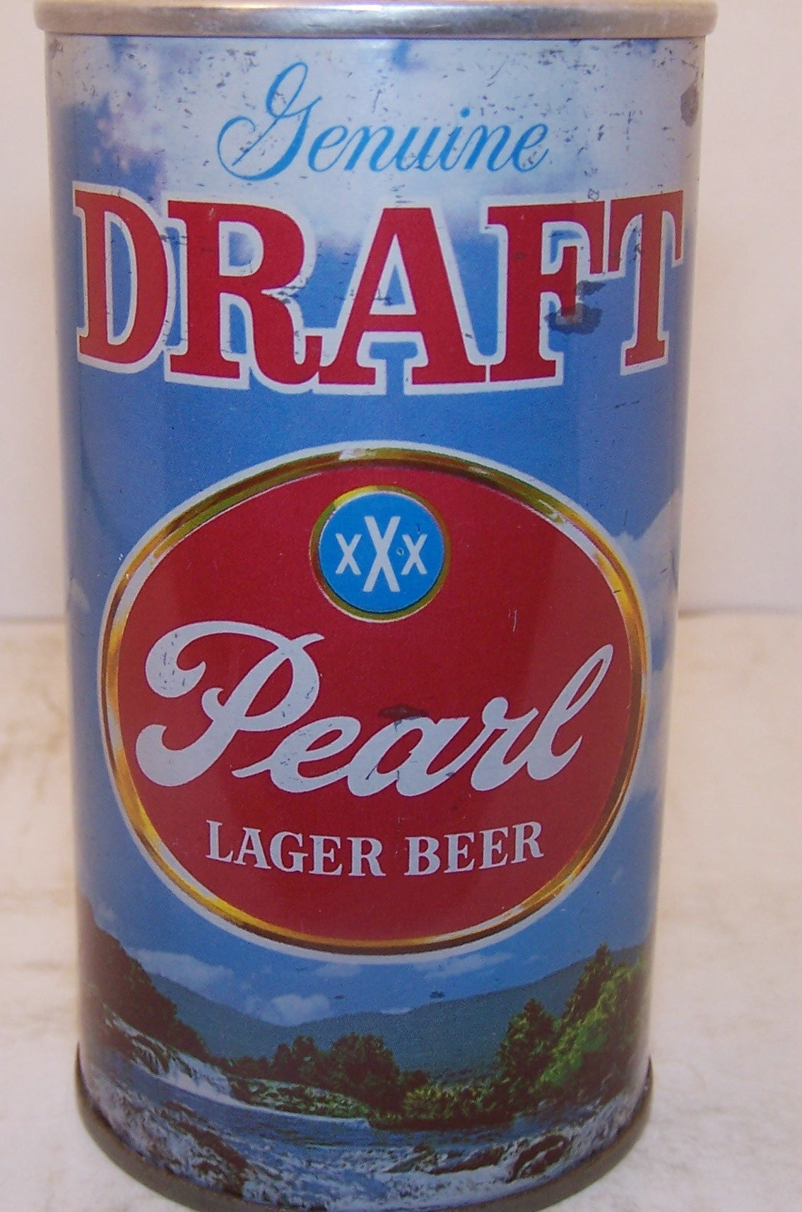 Pearl Draft Lager Beer USBC II 107-36 Grade 1/1- Sold on 06/15/16