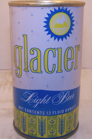 Glacier Light Beer, USBC II 68-37 enamel, Grade 1/1- Sold 3/7/15
