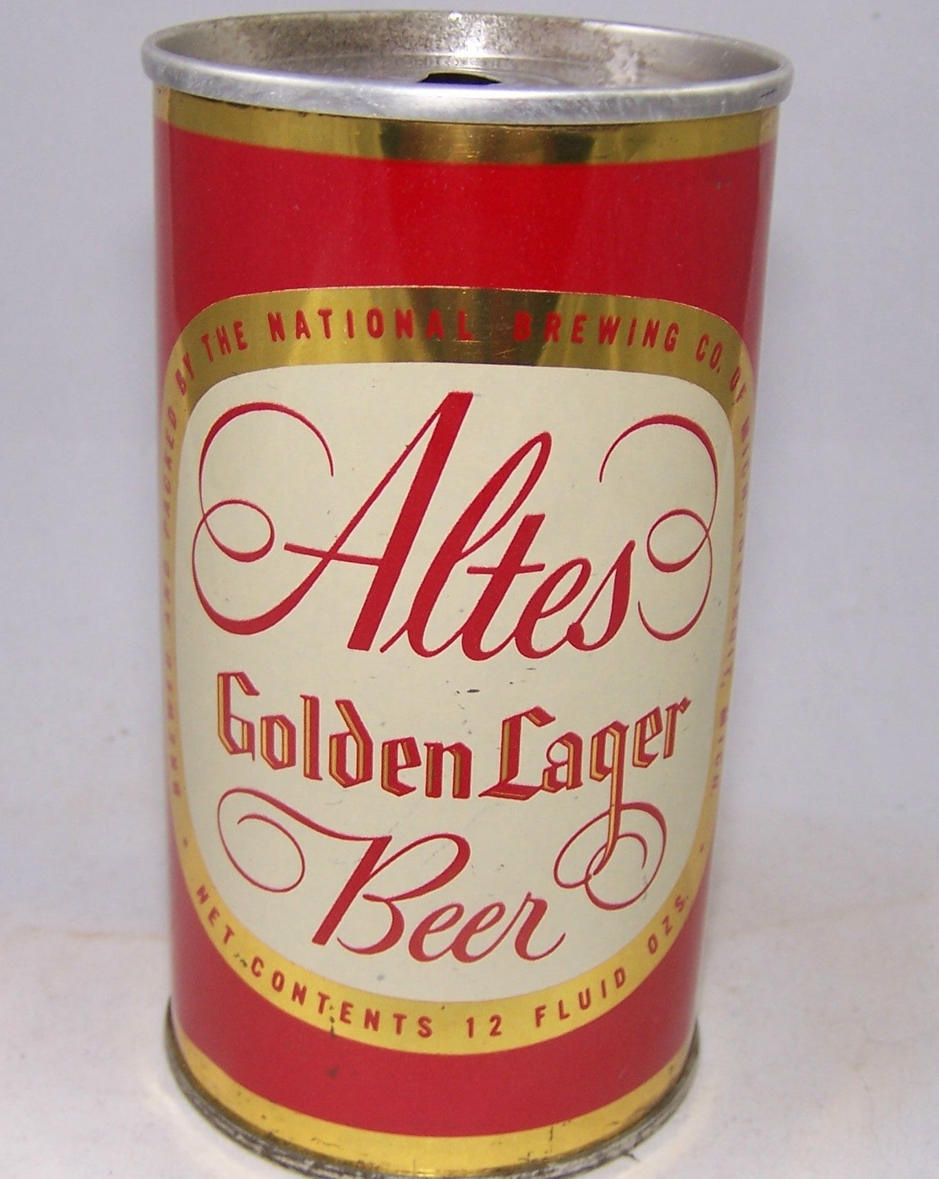 Altes Golden Lager Beer, USBC II 33-04, Grade 1 to 1/1+