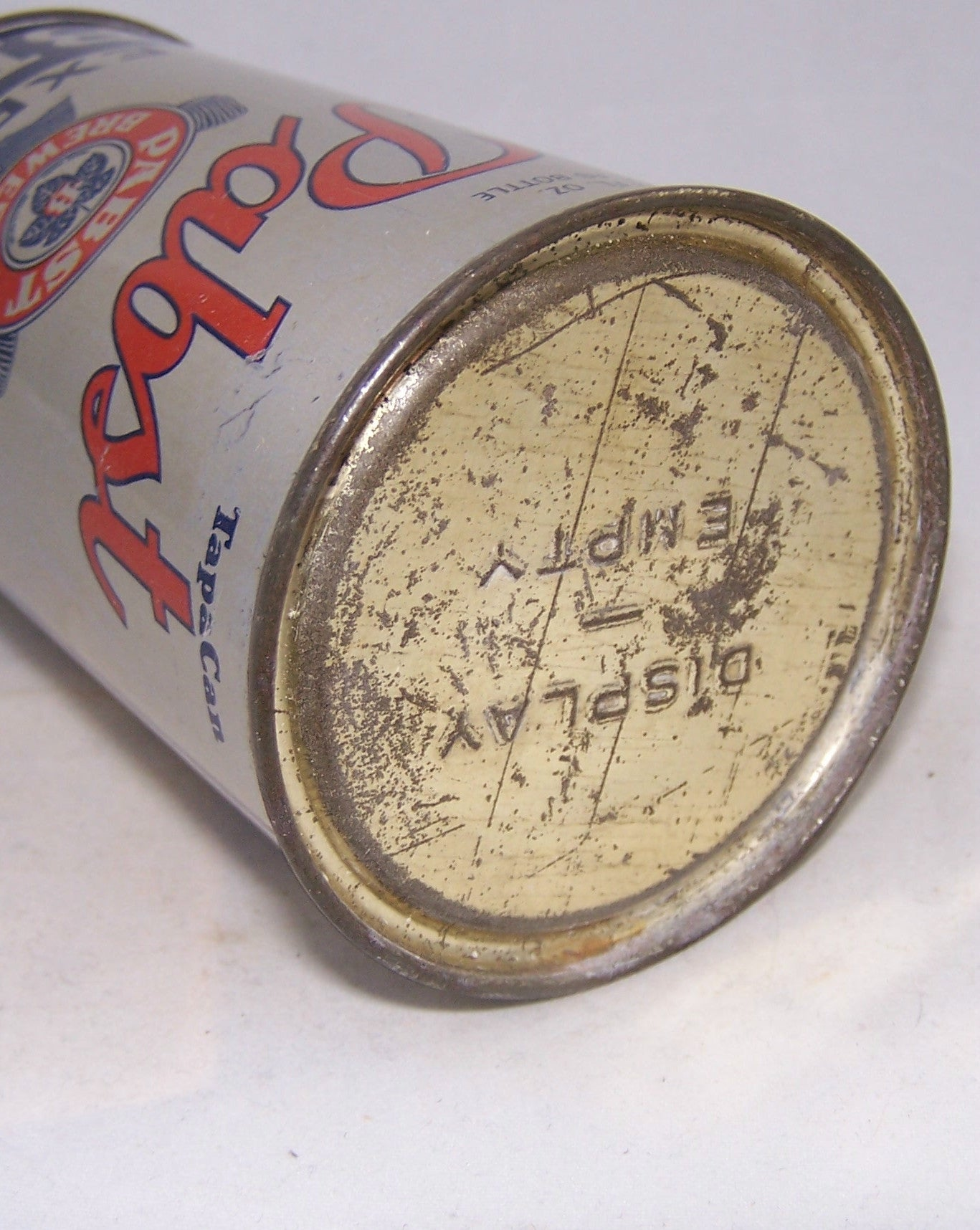 Pabst Export Beer (Display Empty Lid) Lilek # 649, Grade 1
