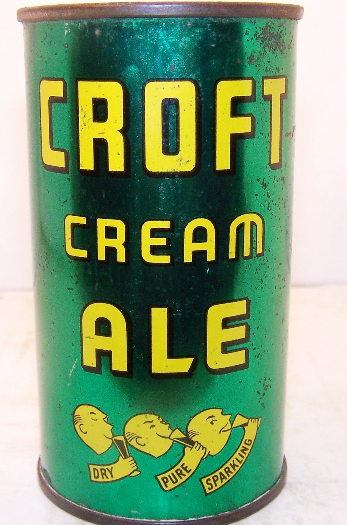 Croft Cream Ale, USBC 52-22 six products, Grade 1- sold on 04/23/17