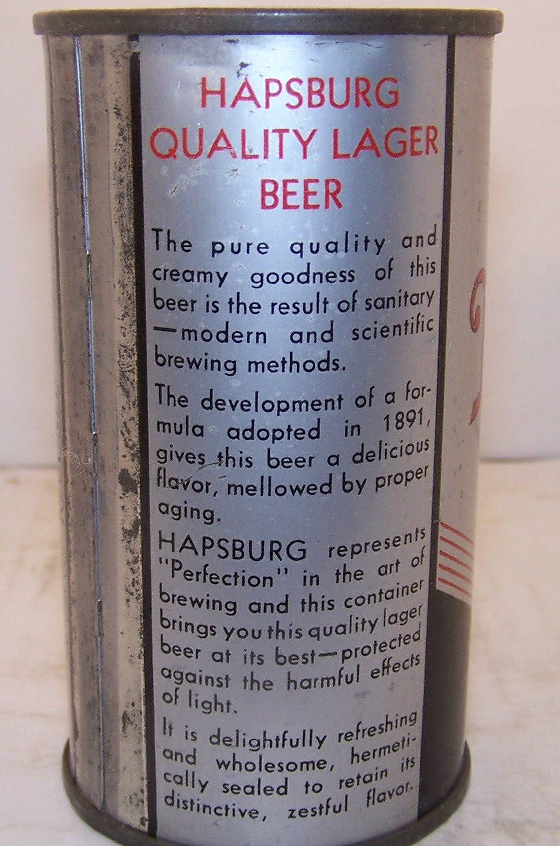 Best's Hapsburg Brand Quality Lager Beer, Lilek page # 107 Grade 1- Sold 2/10/15
