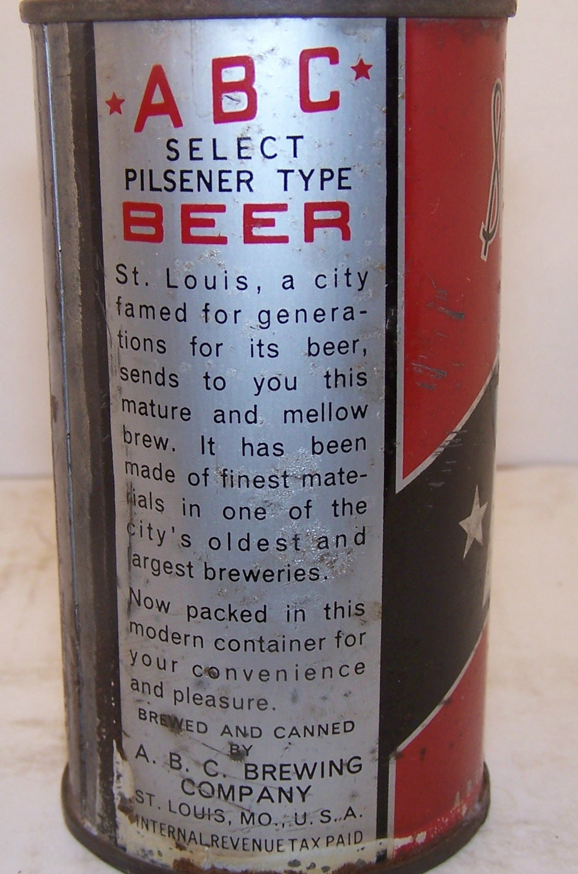 ABC Pilsener Type Beer, Lilek page # 5, Grade 2+ Sold on 10/07/17