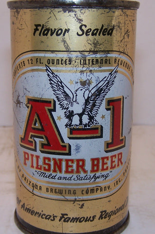 A-1 Pilsener Beer, Lilek #38 Grade 1-/2+ Sold on 02/07/17