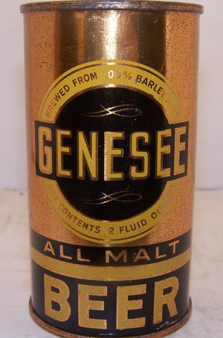 Genesee All Malt Beer, Lilek page # 332, Grade 1/1-