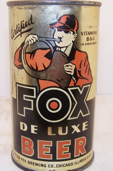 Fox Deluxe Beer Lilek Page 292 Grade 1 1 Sold On 04 02