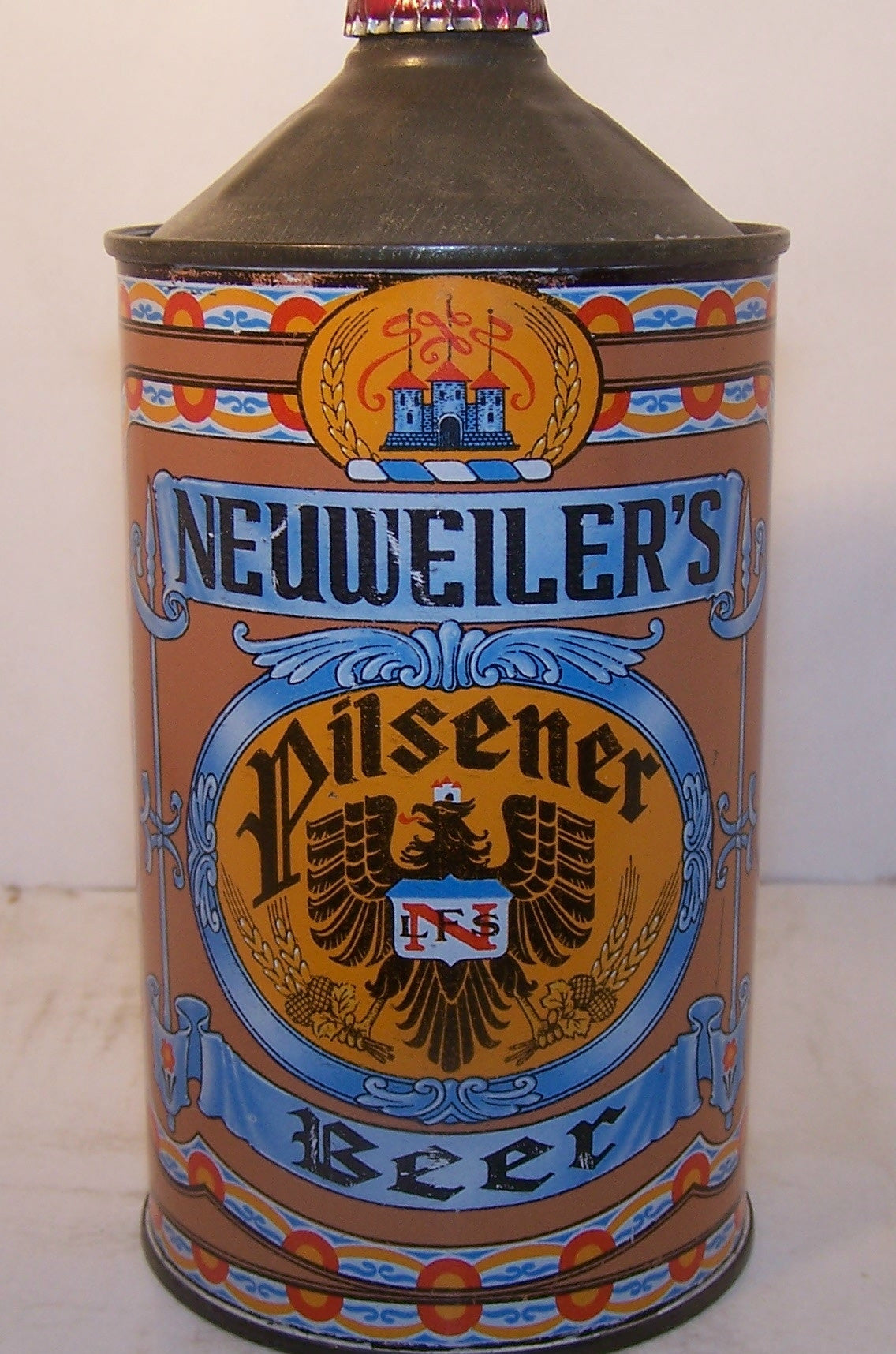 Neuweiler's Pilsener Beer, USBC 215-13, Grade 1 to 1/1+ Sold on 10/08/15