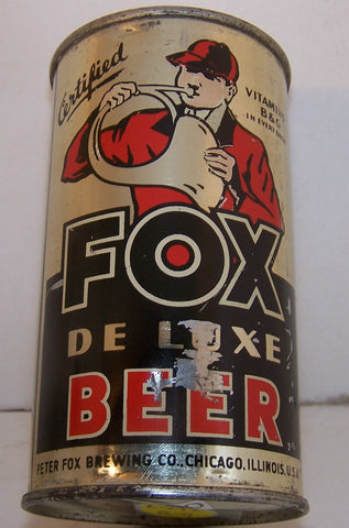 Fox DeLuxe Beer, Lilek page # 292, Grade 1- Sold on 2/11/15