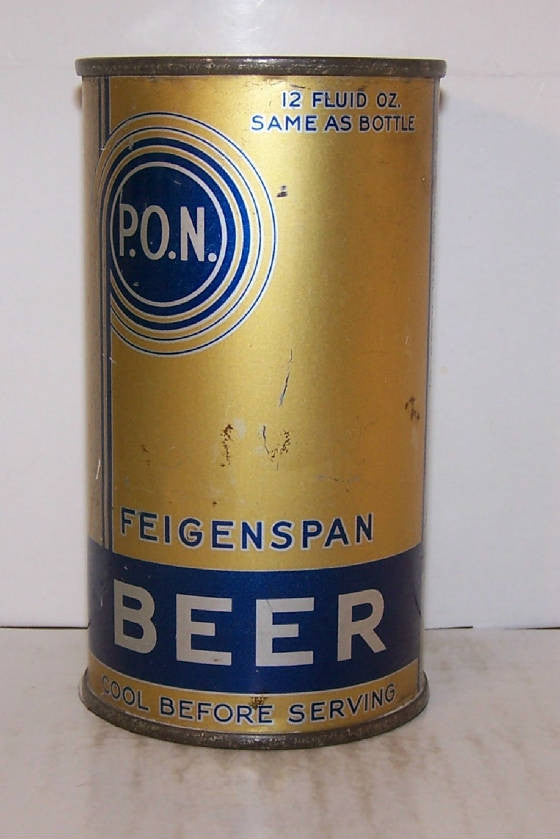 P.O.N. FEIGENSPAN Withdrawn free   Sold on 9/24/14 Price trending down