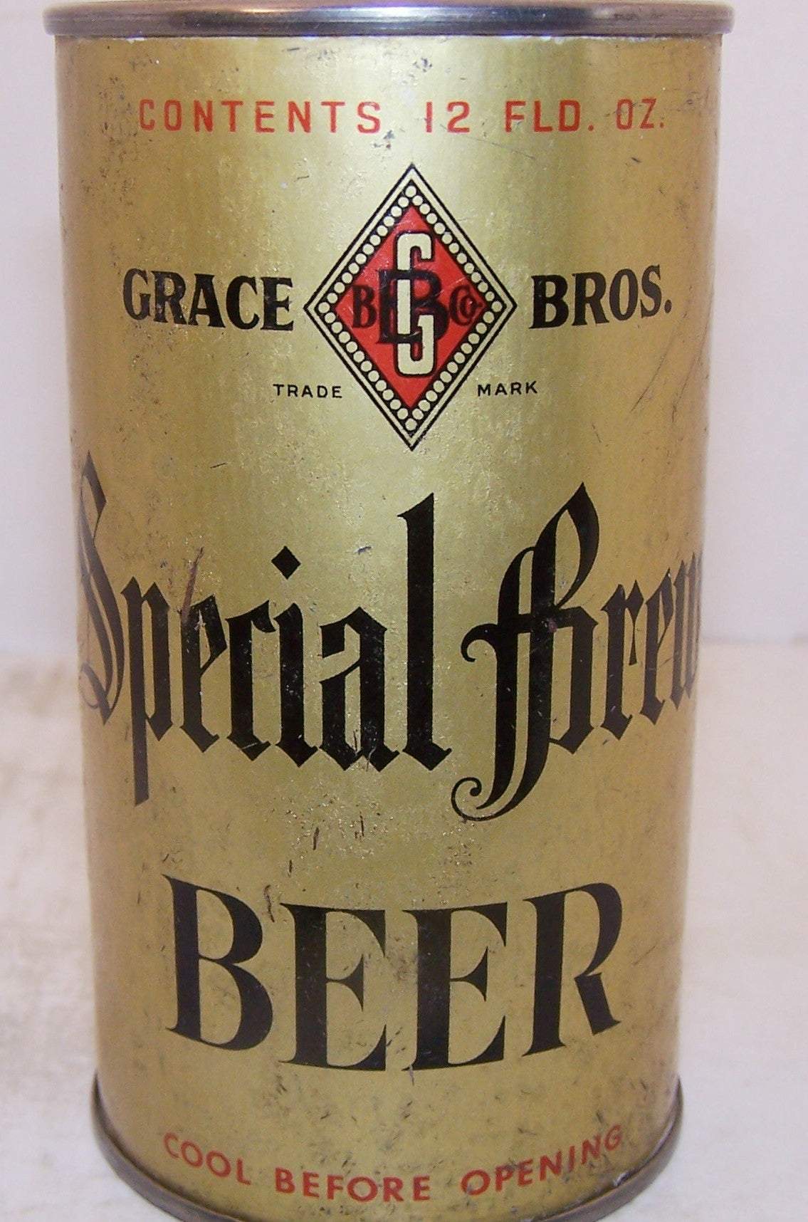 Special Brew Beer, Lilek page # 769, Grade 1-/2+ Sold 4/24/15