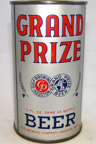 Grand Prize Beer, Lilek # 366 and USBC 74-06, Grade 1/1+