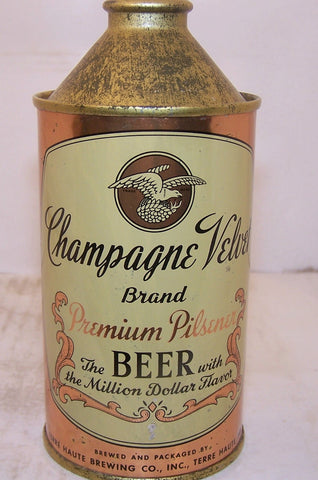 Champagne Velvet  Beer (1944 on policy) USBC 157-6  Grade 1/1+ Sold 2/14/15