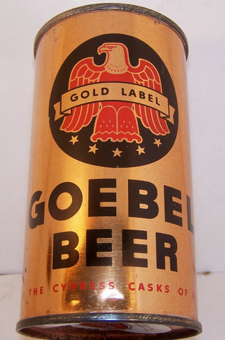 Goebel Gold Label Beer, Lilek page # 344, Grade 1/1+ Sold on 4/8/15