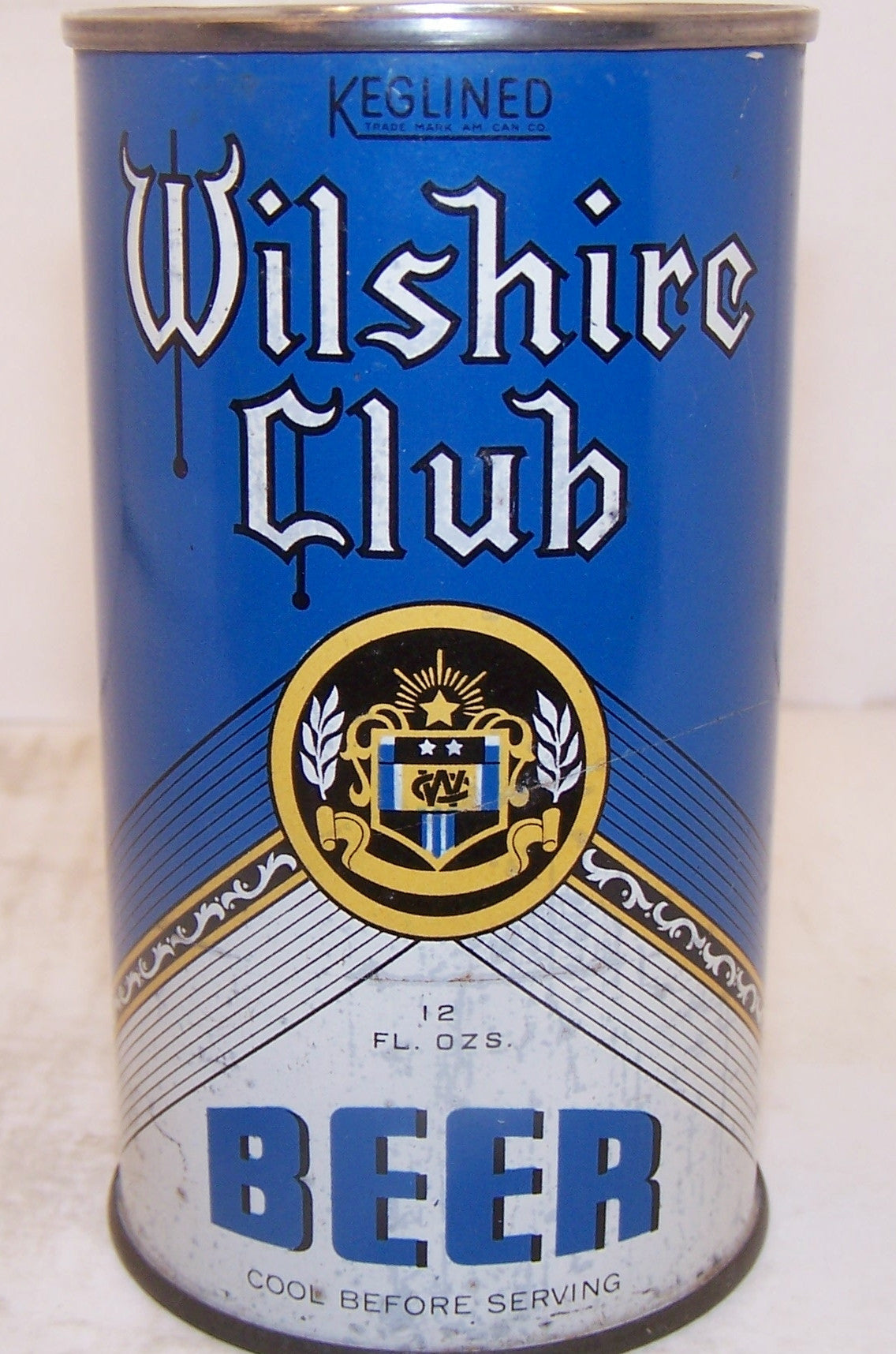 Wilshire Club Beer (Keglined) Lilek page # 882, Grade 1-/2+ Sold on 4/8/15