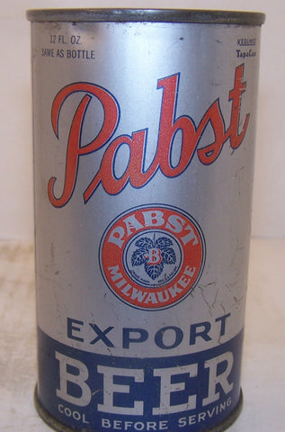 Pabst Export Beer, Lilek page # 642, Grade 1/1-  Sold 12/20/14