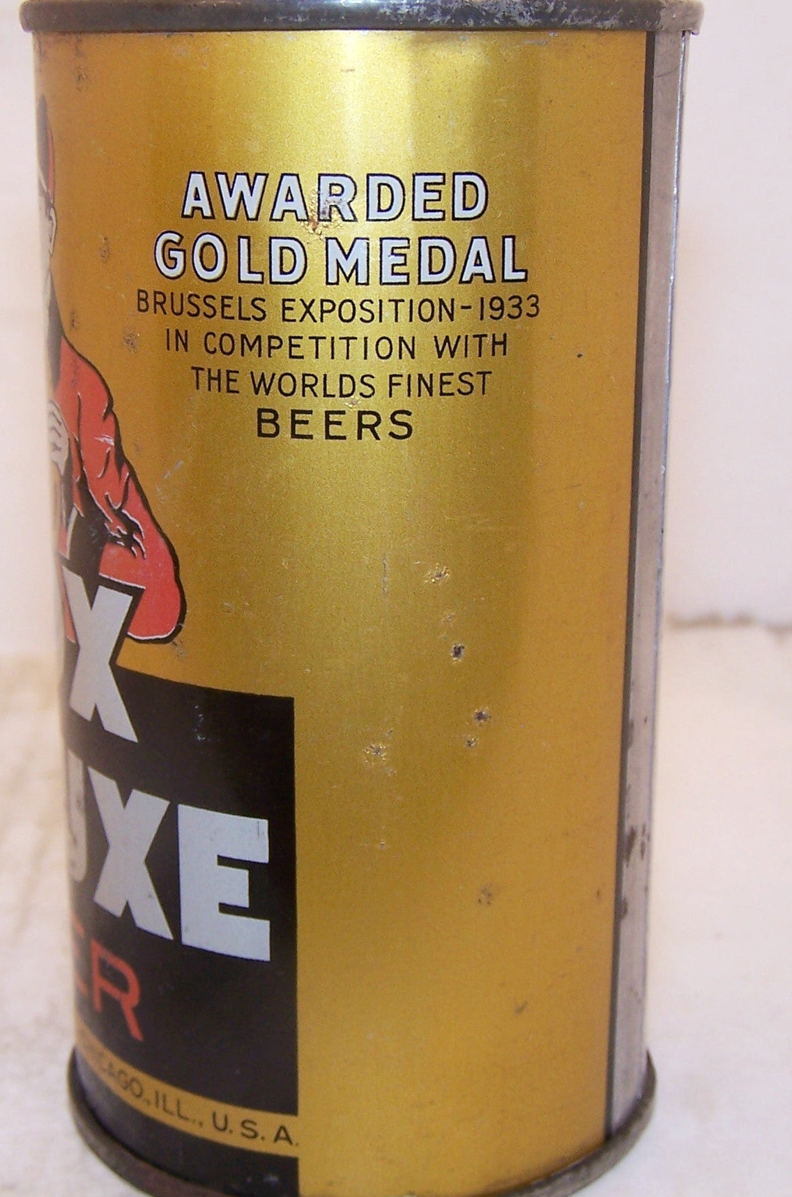 Fox DeLuxe Beer, Actual Lilek page # 298, Grade 1 Sold 12/4/14