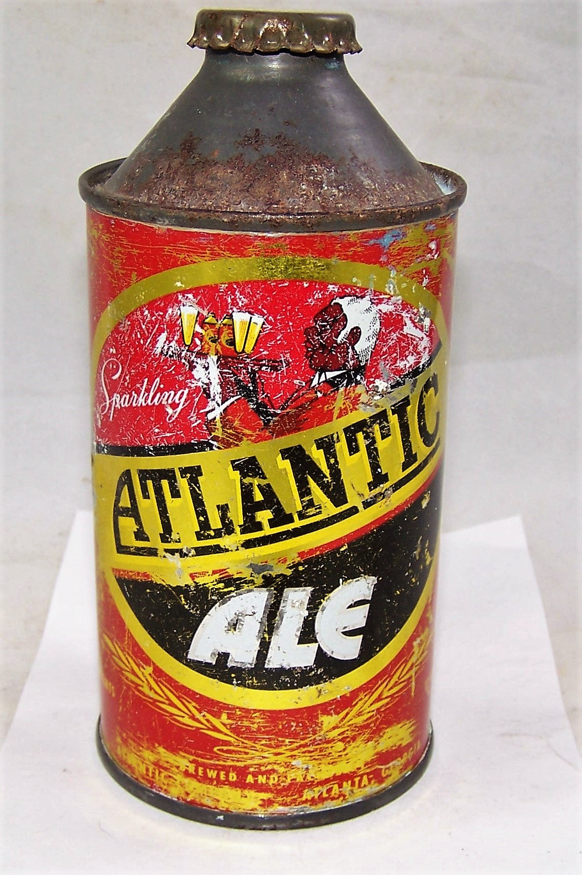 Atlantic Ale Cone Top Beer Can Indoor