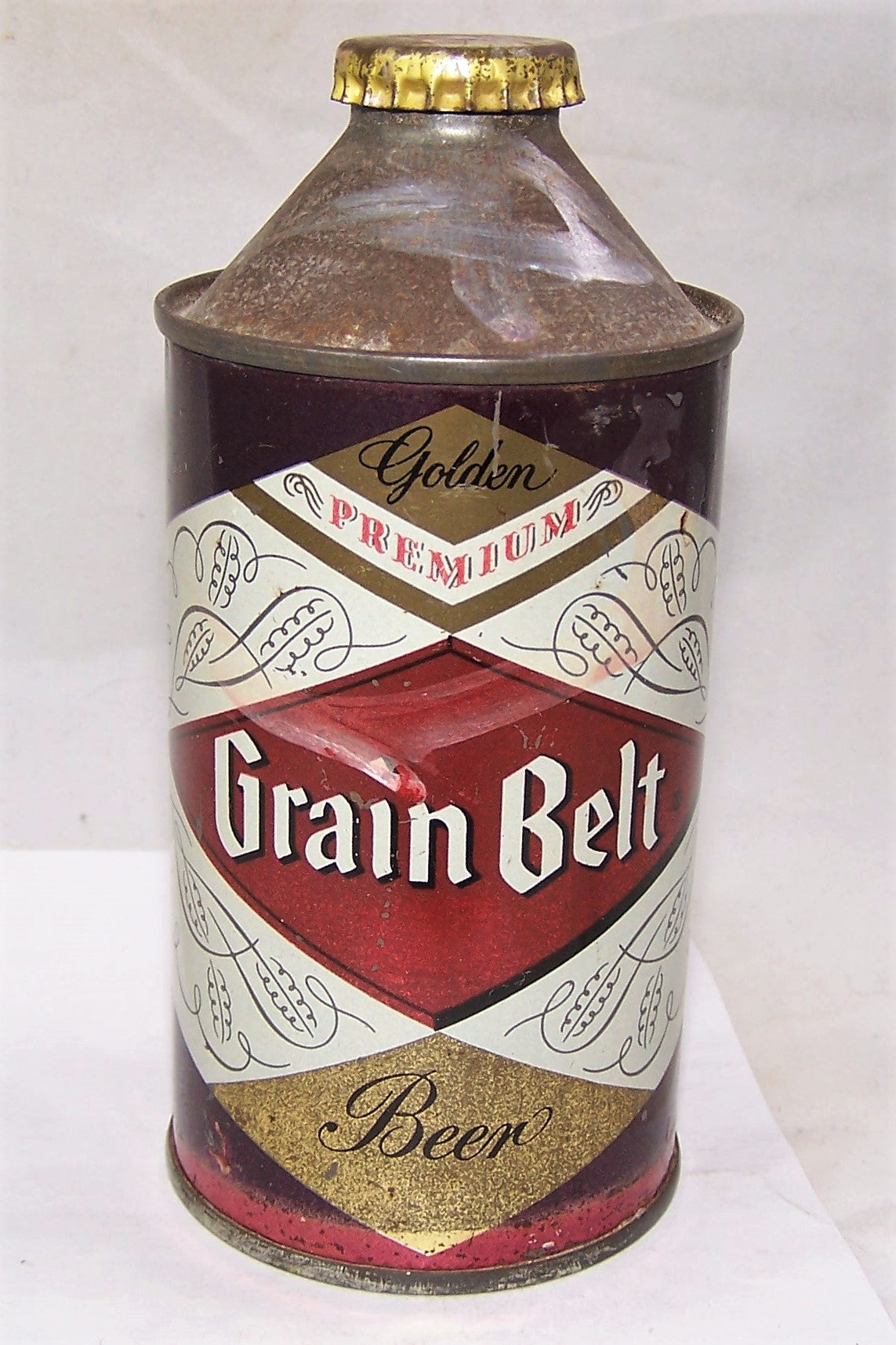 Grain Belt Cone Top Beer Can