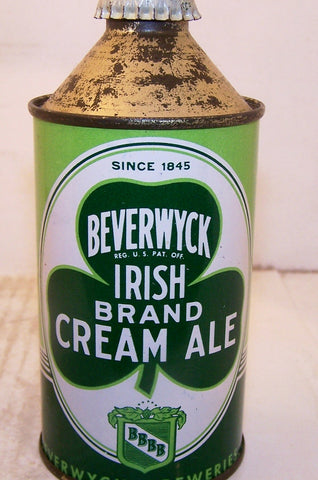Beverwyck Irish Brand Cream Ale, USBC 152-7 Grade 1/1+  Sold on 2/28/15