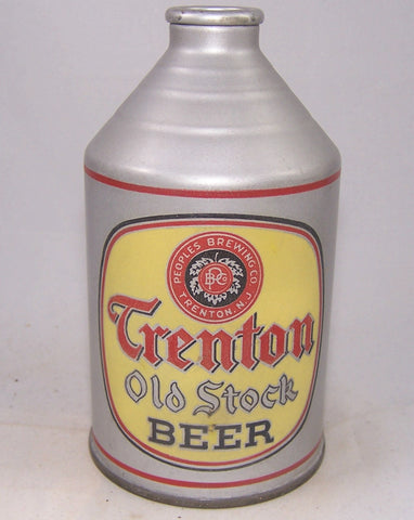 Trenton Old Stock Beer, Withdrawn Free, USBC 199-11, Grade 1/1+