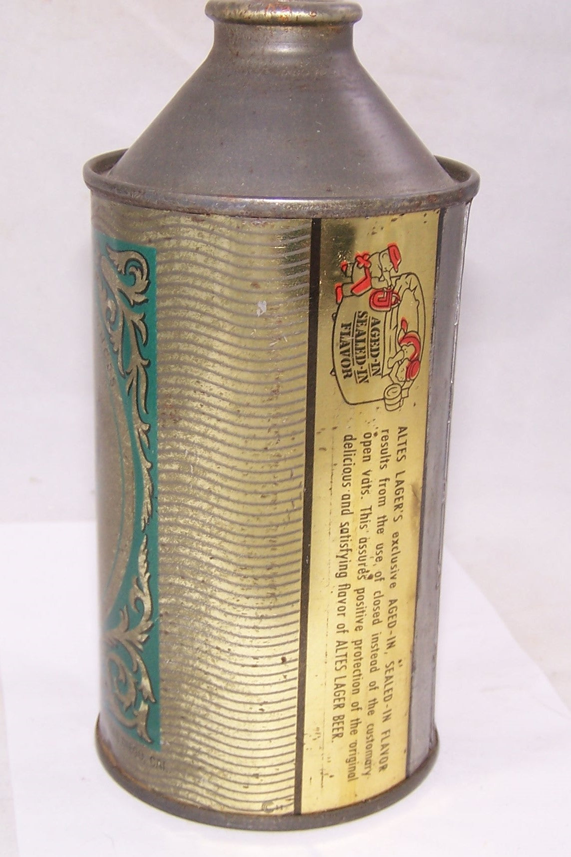 Altes IRTP Cone Top Beer Can