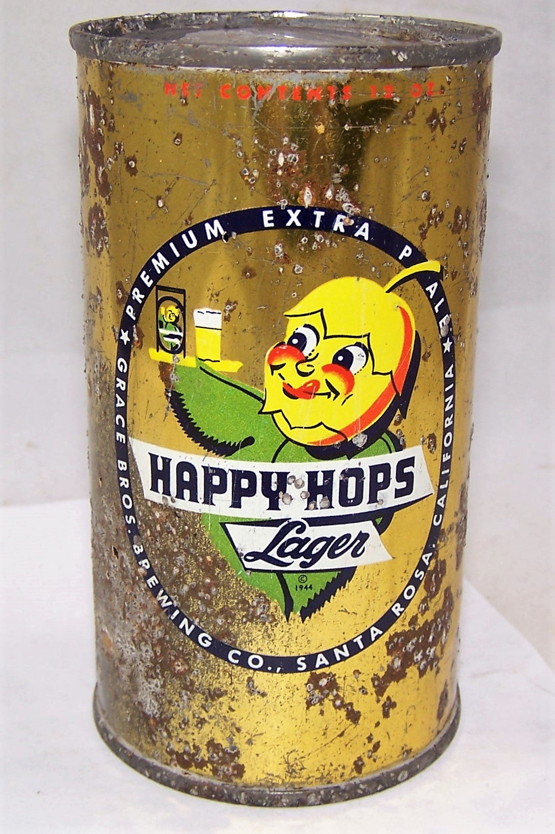 Happy Hops Lager Beer Dumper Flat Top