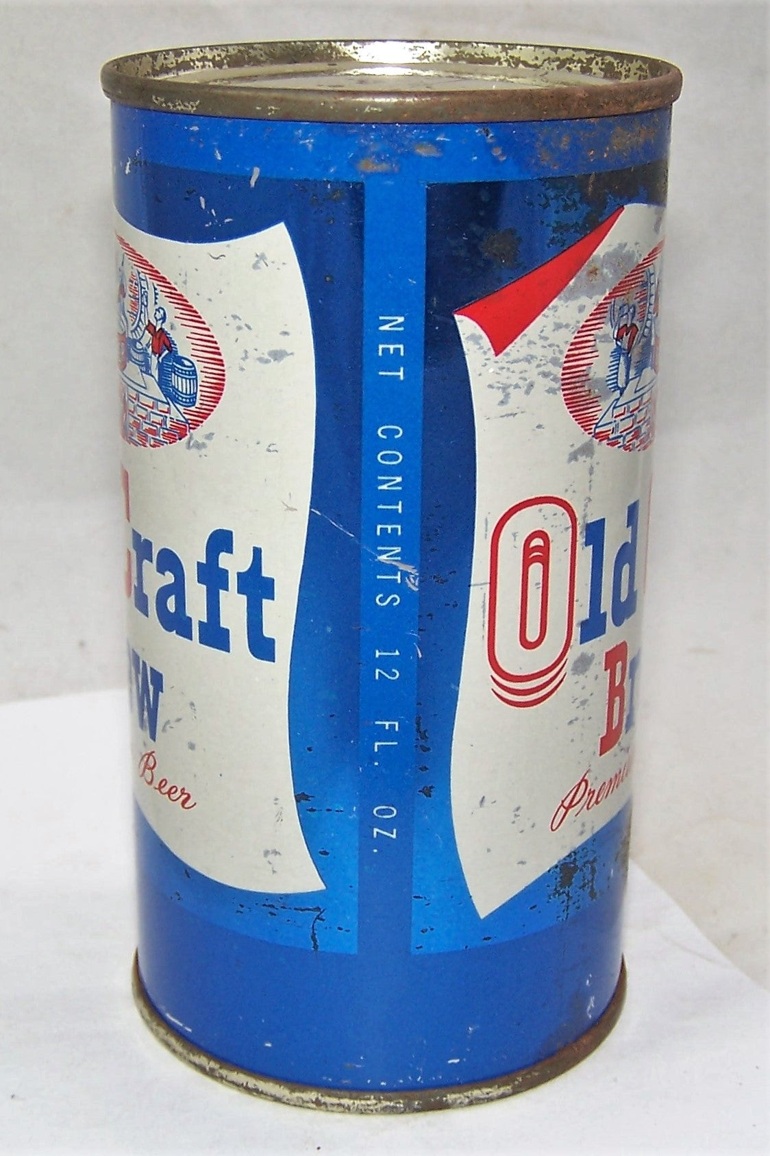 Old Craft Brew Indoor Flat Top Beer Can