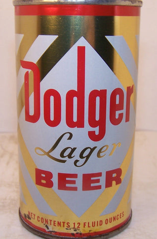 Dodger Lager Beer, USBC 54-17, Grade 1 Sold on 2/14/15
