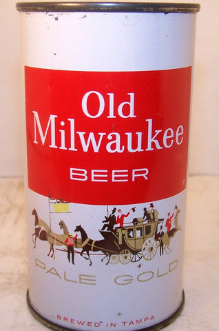 Old Milwaukee Beer Pale Gold, Tampa FL. USBC 107-15, Grade 1