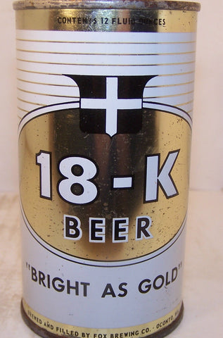 "18-K Beer ""Bright as Gold"" USBC 59-16, Grade 1/1- Sold 5/3/15"