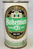 Bohemian Extra 93 Dry Beer, USBC 40-18, Grade 1/1- Sold on 06/08/18