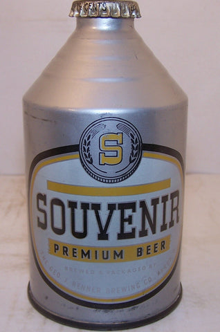 Souvenir Premium Beer irtp, USBC 199-3, Grade 1 Sold on 1/30/15